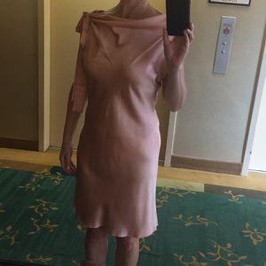 Dresses & Skirts - Pink silk dress